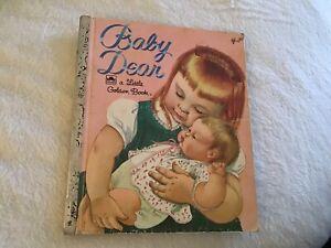 BABY DEAR ~ vintage Little Golden Book ~ Eloise Wilkin, 1962