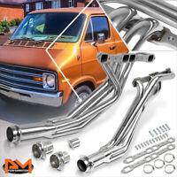 For 77-78 Dodge B/D-Series 6.6/7.2 V8 Stainless Steel Long Tube Exhaust Header