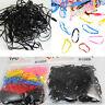 Rubber 400pcs Hairband Rope Ponytail Holder Elastic Hair Band Ties Braids Plaits