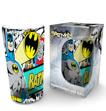 Batman Comics Comic Wrap Large Premium Coloured Glass