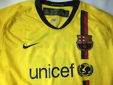 Nike FCB Barcelona Mens Soccer Jersey XL UNICEF Bojan Long Sleeve AthleticTeam