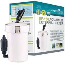 External Filter Freshwater Aquarium 150L Tank Easy Set Up Clear Water Quiet Pump
