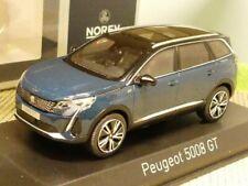 1/43 Norev Peugeot 5008 GT 2020 Celebes Blue 473925