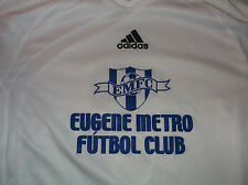 Adidas Eugene Metro Futbol Club Jersey Shirt  Sz Small S Soccer Clima365 Oregon