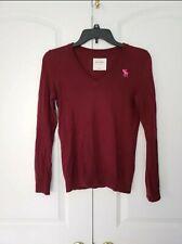 Abercrombie Kids Maroon Sweater (size M)