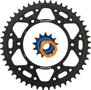 Supersprox Front & Steel Rear Sprocket Combo Kit for KTM, Husqvarna, Husaberg