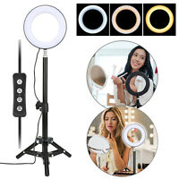 Mini Led Ring light for YouTube Video Live Photography Compatible with iPhone