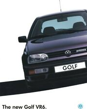 VW GOLF VR6 MK3 Poster Photo Volkswagen Limited Edition Very Rare NEW A3 Print