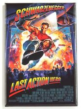 Last Action Hero FRIDGE MAGNET (2 x 3 inches) movie poster