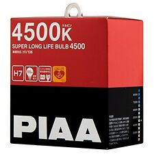 NEW PIAA 4500K SUPER LONG LIFE H7 Headlight Halogen Fog Light Bulbs HV106