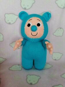 Bam Bam Baby TV Lovingly Handknitted Unofficial Unbranded Toy Baby tv 32 cms