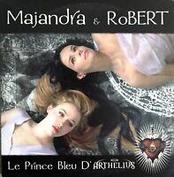 CD PROMO MAJANDRA & ROBERT LE PRINCE BLEU D'ARTHELIUS (MYLENE FARMER) TRES RARE