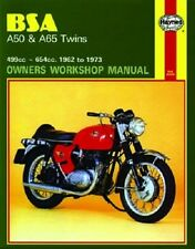 HAYNES SERVICE REPAIR MANUAL BSA A652H HORNET 1965-1966 A658S SPITFIRE 1965-1968
