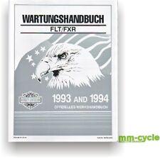 HARLEY Werkstatthandbuch DEUTSCH TOURING FLT FXR 1993-1994 OEM 99483-94G Buch