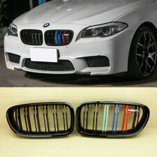 For BMW F10 Piano Shiny Black M5 Style Front Grills M Color 535i