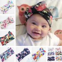 6X Baby Kinder Stirnband Blumen Schleife Haarband Haar Band Mädchen Haarschmuck