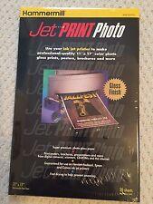 Jet Print photo gloss finish 11 x 17 heavyweight paper