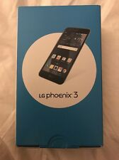 New AT&T Lg Phoenix 3 4G LTE GSM 16GB M150 Quad Core Android 6.0