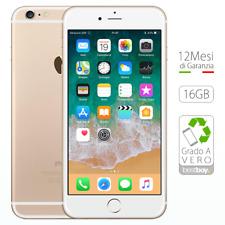 Apple iPhone 6 Plus 16GB Oro Ricondizionato GRADO A Sigillato Gold come NUOVO