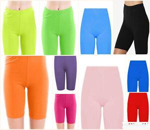 Womens Cycling Shorts Dancing Gym Biker Hot Pants Leggings Active Casual Sports