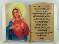 Oracion Al Sagrado Corazon De Maria (Para Mesa o Pared)6x4 Pulgadas New