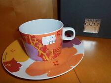 Rosenthal Coffee-Cult Flowers  Kombi - Tasse 2  tlg.  Moon Cova