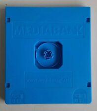 Caja vacia cajas vacias estuche rigido DVD CD Blu-Ray azul (Pack de 20 Uds)