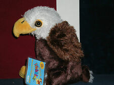 "Webkinz VERY RARE AMERICAN BALD  EAGLE  ~NWT~  SOLD OUT  ""Harley"" USA ~ Freedom!"