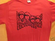 Vintage BEATLES Concert T-Shirt BEATLEFEST 1981 Lg John Lennon Rock Tour Concert