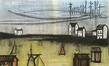 "Bernard BUFFET ""A Small Beach"" original lithograph"