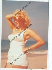 """MARILYN MONROE-WHITE BATHING SUIT WITH ARM ON HER FOREHEAD-(#153*)4""""X6"""" NEW"""