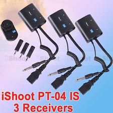 AC Wireless Radio Flash Trigger PT-04 for Studio Flash Light/Strobe/Monolight-3R