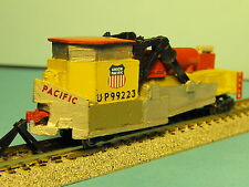 N-Scale Custom Built & Painted JORDAN SPREADER UNION PACIFIC YELLOW # 99223