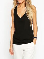 Patternless Semi Fitted Tops & Shirts Size ASOS for Women