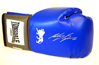 Ricky Burns Hand Signed Blue Lonsdale Boxing Glove.