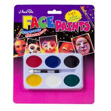 La pittura Tavolozza 6 Colori Faccia Corpo Trucco per Halloween Partito R1T5