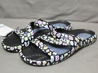 CHEEKS womens slip-on EVA material multicolor Health Sandals sizes 9 & 10 M MNEW