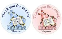 BAPTISM CHRISTENING PARTY FAVORS STICKERS LABELS for party favors