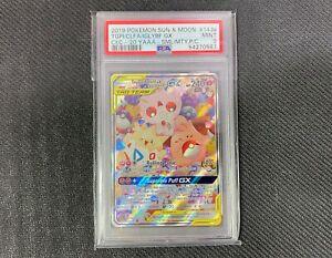 PSA 9 Togepi Cleffa Igglybuff GX 143a /236 Promo Graded Pokemon Card | Low Pop