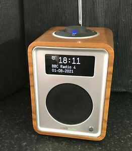Ruark DAB/FM R1 Tabletop Audio Radio with Alarm Clock - Wood Effect