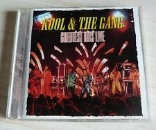CD ALBUM FUNK GREATEST HITS LIVE KOOL & THE GANG 13 TITRES 1999 COMPILATION