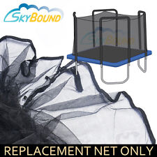 13 X 13' Square Trampoline Net FITS 4 Arch Enclosures FITS SkyWalker (Net Only)