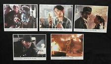 """1981 """"Raiders of the Lost Ark"""" SET OF 5 COLOR 8X10 PHOTOGRAPHS Harrison Ford NM"""