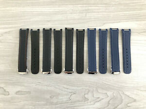 Omega Aqua Terra 20MM Replacement Rubber Watch Strap Band w/ Buckle