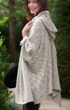 Soft Surroundings Hooded Cape Sweater Coat Ruana O/S (M,L,XL,1X) NEW! $130