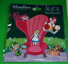 Disney Pins Alice In Wonderland Booster 5 pins Authentic New Free Shipping