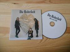CD Indie Die Heiterkeit - Herz aus Gold (12 Song) Promo STAATSAKT ROUGH TRADE