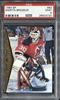 Martin Brodeur 1994 Upper Deck SP Hockey # 63 PSA 9 Mint