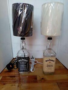 Jack Daniels Bottle Lamps set of two
