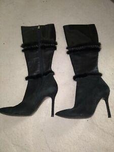 Versace vero cuoio boots